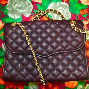 Rebecca Minkoff | Port Wine Quilted Affair Bag